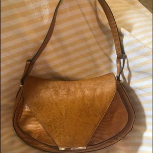 Vince Camuto - Calf Hair and Leather shoulder bag